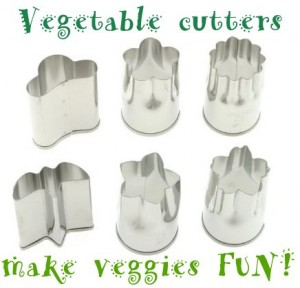fun vegetable cutters