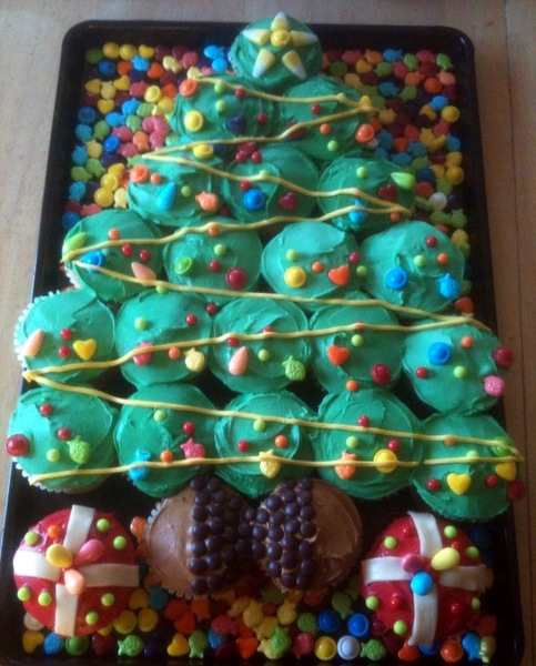 christmastreecupcakes